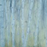 "Birches, Oil on Canvas, 22""x28"", 2006"