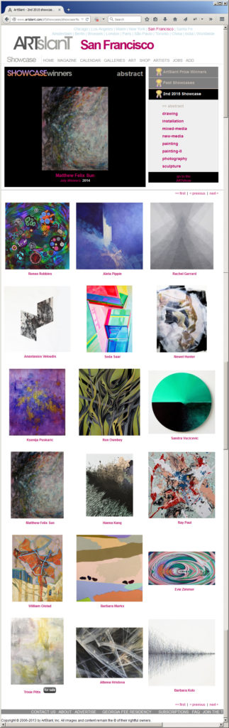 ArtSlant Showcase Awards