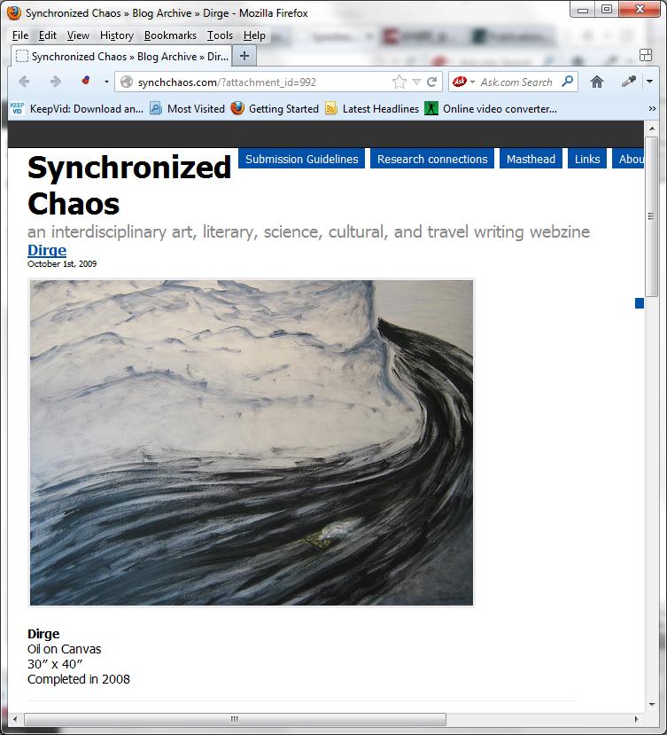 SynchChaso, 2009-10