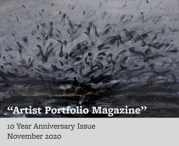 Artist Portfolio Magazine, 10 year anniversary issue, November 2020