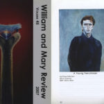 A Young Frenchman, William and Mary Review, 2007